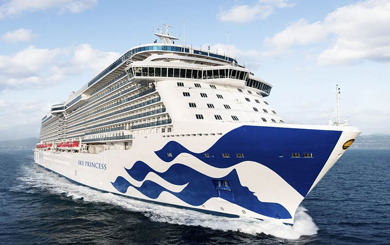 Sky Princess: nieuw cruiseschip van Princess Cruises